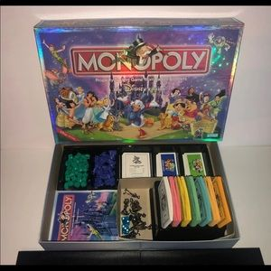 Monopoly Disney Edition-Read Description